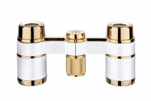 Eschenbach Optik la scala 3x18 Theaterglas, einfache Bedienung, handlich, leicht, perlenweiß