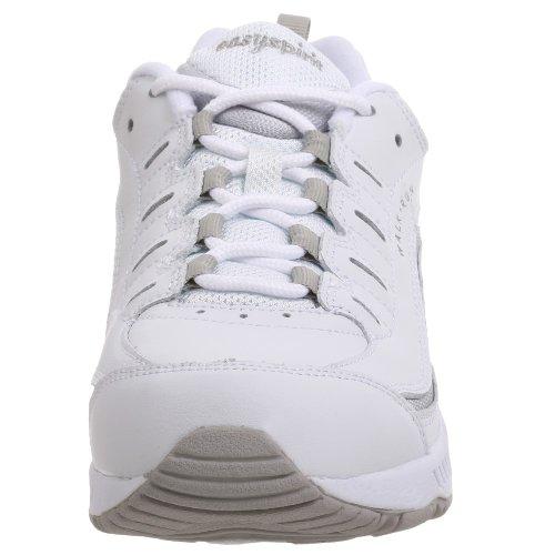 Easy Spirit Women's Romy Sneaker,White/Light Grey,6 W White/Grey