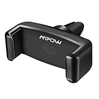 Car Phone Holder, Mpow Air Vent Cars Mount 360° Rotation E-Clip One Step Mounting Car Phone Cradle for iPhone XS/X/8/7/7 Plus/6s Plus/5S/HTC Huawei P20 and Others
