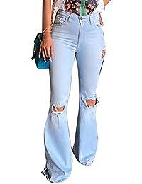 Amazon.es: ropa hippie - XL / Vaqueros / Mujer: Ropa