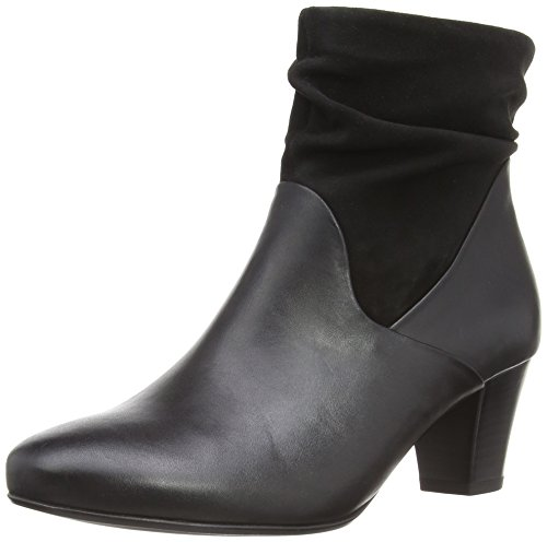 Gabor Affair, Stivali donna nero (Black Leather/Suede)
