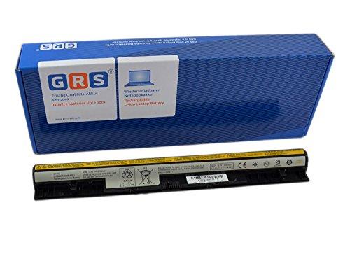 GRS Notebook Akku für LENOVO IdeaPad Z710, LENOVO G500s, S510p, G505s, G400s, S510p, G410s, G405s, ersetzt: L12L4A02, L12L4E01, L12M4E01, L12S4A02, L12M4A02, L12S4E01, L1254E01 Laptop Batterie 2200mAh, 14,4V