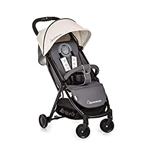 Hauck Swift Plus, Compact Pushchair with Lying Position, Extra Small Folding, One Hand Fold, Lightweight, Carrying Strap, from Birth Up To 15 kg, Mickey Cool Vibes   4