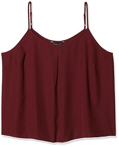 Capsule Pleat Camisole, Camiseta de Tirantes para Mujer Capsule