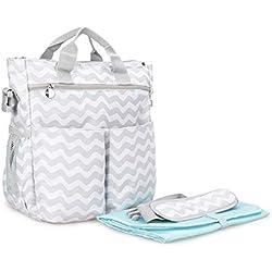 C-Xka Solo Hombro Lanzado Casual Multi-función Mummy Bag de Gran Capacidad Maternal Y Child Mujeres Embarazadas Hot Mom Travel Fashion Travel Light Handbag (Color : C)