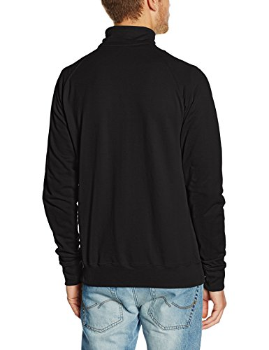 Fruit of the Loom Herren Sweatshirt Schwarz