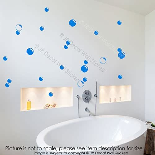 30X Large Bubbles Bathroom Shower Tile Wall Art Stickers Removable Vinyl Decals Bathroom Decor