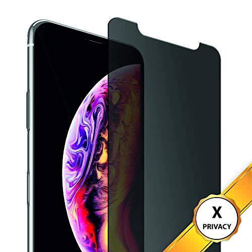 Arrivly |2 Pack| Anti-Spähen Panzerglas Blickschutzfolie für Apple iPhone X Sichtschutz Glas Privacy Screen Protector Anti-Spy Glass 5.8 Inch 3D 9H Sichtschutzglas (iPhone X) 2 Privacy Screen Protector