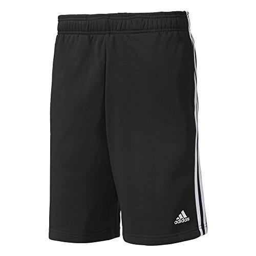 adidas Herren Essentials 3s French Terry Shorts black/White