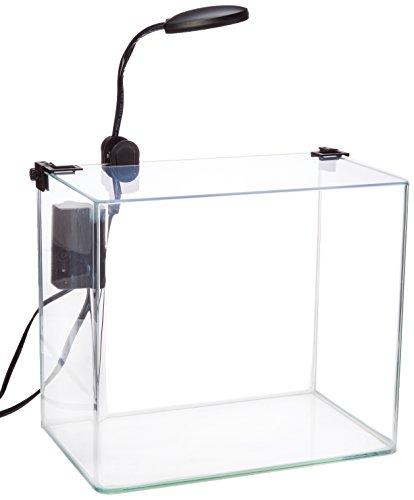 Penn-Plax gebogen Ecke Glas Aquarium-Set