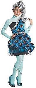 Rubies - Disfraz de Sweet 1600 Frankie Stein de Monster High para niñas, 117 cm (880991_S)