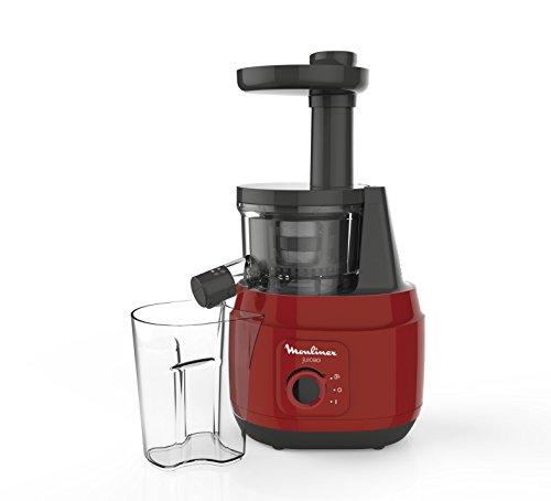 Moulinex Juice ZU420E10 - Licuadora para frutas y verduras, control pulpa ajustable, prensado frío y fácil limpieza, panel táctil, 2 filtros y boquilla antigoteo