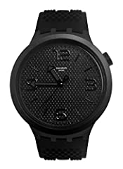 Idea Regalo - Swatch Orologio Analogico Quarzo Uomo con Cinturino in Silicone SO27B100