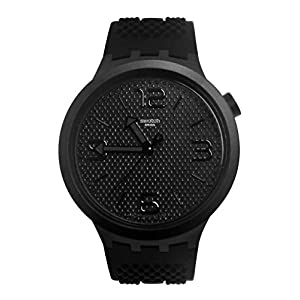 Swatch Reloj Analógico para Hombre de Cuarzo con Correa en Silicona SO27B100