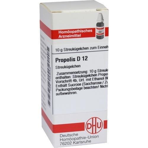 Propolis Globuli D12, 10g, DHU