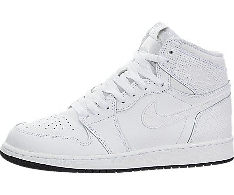 Nike Air Jordan 1 Retro High Og Bg ( 575441 002 ) Weiß (38.5) (Air Jungen Für Jordan Retro)