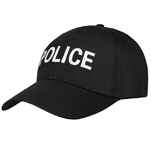 Gorra béisbol siglas cuerpos seguridad, como SWAT