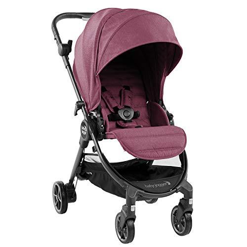 Baby Jogger City Tour LUX Kinderwagen, leichter, zusammenklappbarer & tragbarer Kinderwagen, Rosewood