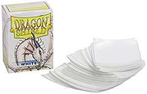 Pegasus Arcane Tinmen 10005 Dragon Shield - Fundas Protectoras para Cartas coleccionables (100 Unidades), Color Blanco
