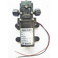 VerRich Bomba de diafragma, Bombas de Agua de Alta presión de 24 V DC Bomba pulverizadora autocebante de 70W 6L/ min 131 PSI