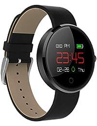 WSWJJXB Écran Couleur Montre Intelligente iPhone Mesdames Hommes Android, Moniteur de Sommeil Bracelet étanche IP67 Tracker Fitness