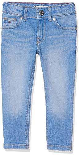 Tommy Hilfiger Baby-Mädchen Sophie Skinny AVBBST Jeans Blau (Avenue Bright Blue Stretch 911), Herstellergröße: 92 - Avenue Stretch-jeans