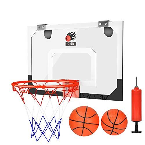 Cyfie Basketballkörbe Büro Desktop Badezimmer Spiel Home Decor für Basketball Liebhaber Erwachsene Jungen Mädchen Kinder (Desktop-basketball-spiel)