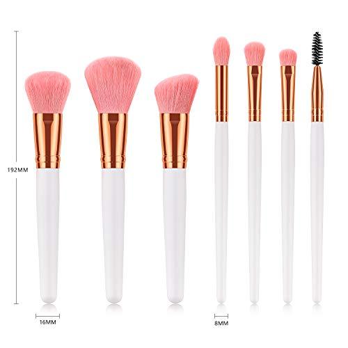 CHuangQi Make-up Pinsel-Set, Kosmetikpinsel, Foundation Blending Concealer Augen-Gesichtspuder-Cremepinsel-Sets