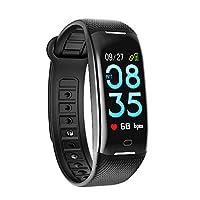 SMBOX Fitness Tracker, Activity Tracker Watch As Sleep Monitor,Step Counter,Calorie Counter,Call/Message Reminder,Waterproof Pedometer Smart Bracelet/Smart Wristband for Kids Men Women