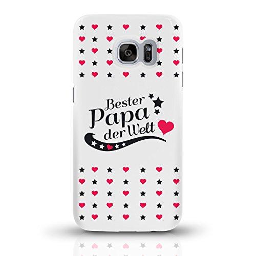 """JUNIWORDS Handyhüllen Slim Case für Samsung Galaxy S7 mit Schriftzug """"Bester Papa der Welt"""" - ideales Weihnachtsgeschenk für den Vater - Motiv 1 - Handyhülle, Handycase, Handyschale, Schutzhülle für I motiv 4"""