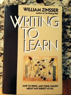 Writing to Learn by William Knowlton Zinsser (1990-05-05)