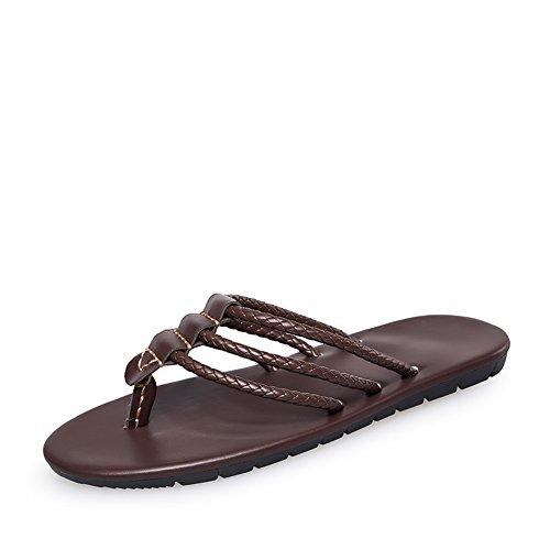 Praia Masculinos De Sapatos Elegantes Do um E Confortáveis Verão Chinelos 05RxnR