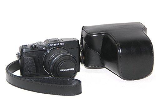 ''Ultra Light'' Schwarz Protective Kamera Wasserdichte Tasche für Olympus PEN E-P5 + 17mm + 14-42mm II R EP5