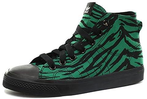 adidas Originals JS Jeremy Scott Nizza Hi Unisex Sneakers, Grün, Gr. 40 2/3