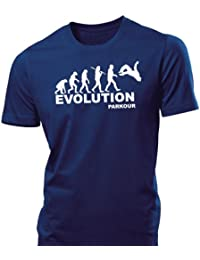 iClobber Evolution Parkour mens tshirt