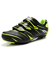 8a8ce4ddd0 Tiebao Mens Road Cycling Shoes Lock Pedal Bike Shoes Cleated Bicycle  Ciclismo Shoes