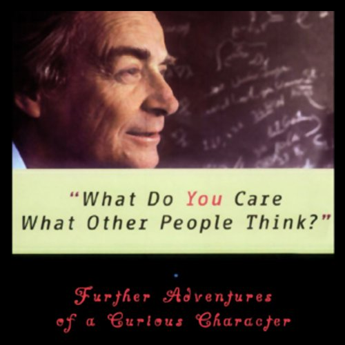 What Do You Care What Other People Think?  Audiolibri