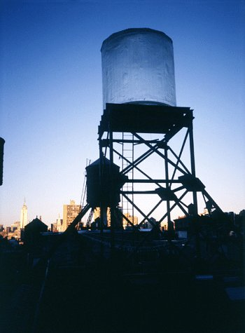 Looking Up!: Rachel Whiteread's Water Tower