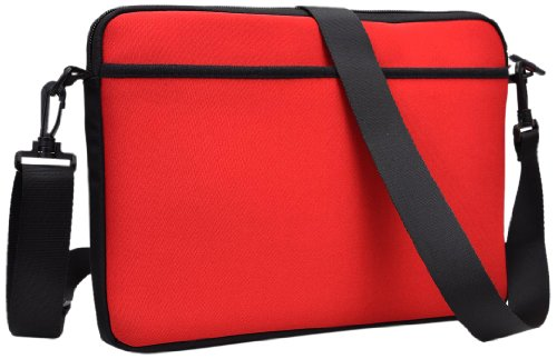 Kroo ND11SCR1-7288 Neopren-Schultertasche mit Taschen für Tablets bis 11 Zoll - Dell Touch-screen-computer