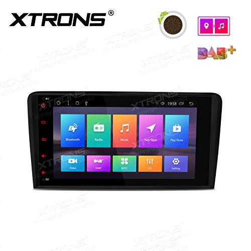 "XTRONS 8\"" Android Autoradio mit Touchscreen Multimedia Player mit Android 8.1 Octa Core Multimedia Player untersützt TPMS WiFi 4G Bluetooth5.0 2GB RAM 32GB ROM DAB OBD2 FÜR Audi A3/S3/RS3"