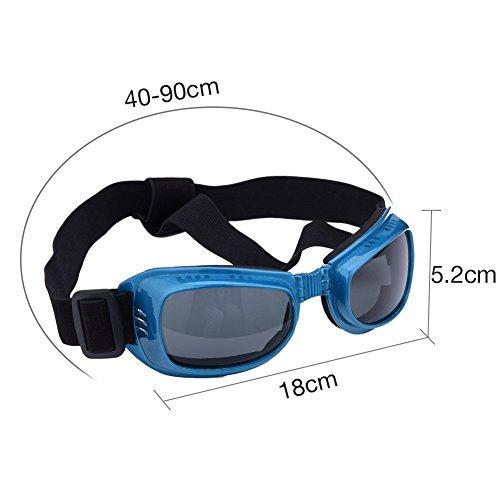 square-style Hund Brillen Augen Große Pet Schutz Brille UV-Wasserdicht gegen Beschlag geschützt Sandstorm - Große Schwimmen-schutzbrillen