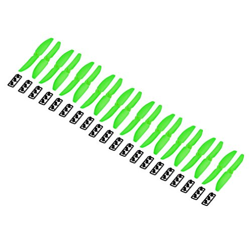 10 Pairs 5030 5x3 Left Right Propeller for The Mini Qav250 Quadcopter -Green