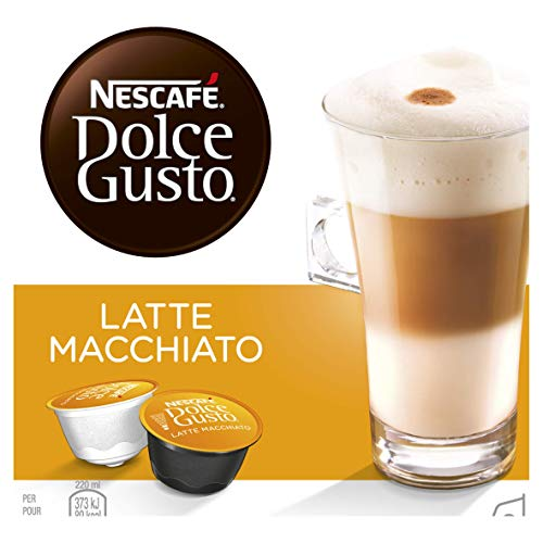 Nescafé Dolce Gusto Latte Macchiato, Kaffeekapseln, 1er Pack