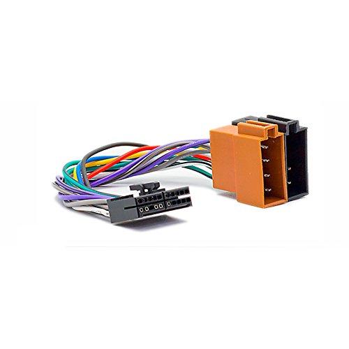 carav 15-108 KFZ ISO Kabel für OEM: Audiovox - AEG - Clatronic - Mystery - Prology - Elenberg (Select Modelle) 20pin (29 x 7 mm) - > ISO (weiblich) Adapter Stecker Audiovox Auto-adapter