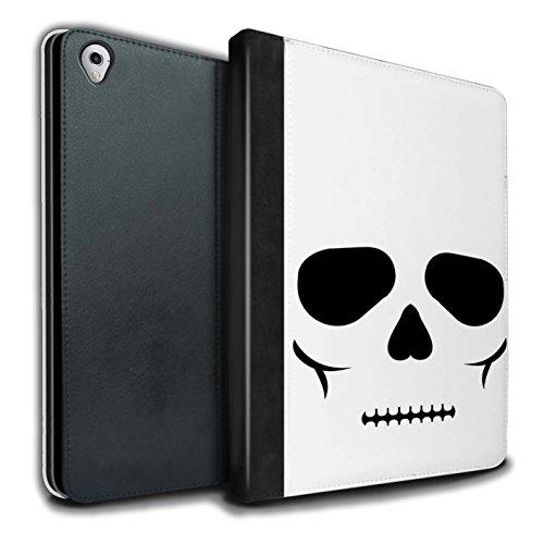 STUFF4 PU-Leder Hülle/Case/Brieftasche für Apple iPad Pro 9.7 tablet / Schädel Muster / Halloween Zeichen Kollektion