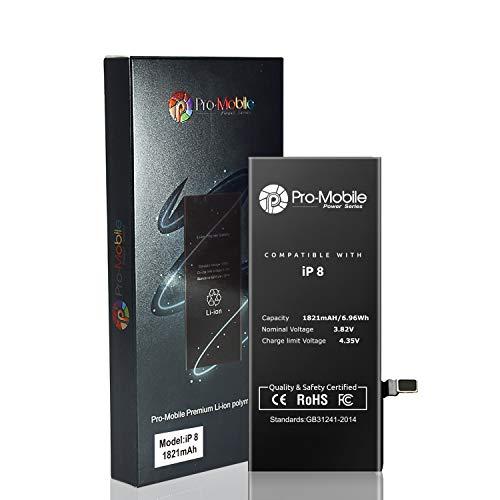 Pro-Mobile Power Ersatz Akku für Original Apple iPhone 8 /8G 1821mAh inkl.Klebestreifen und Reperaturwerkzeugset Batterie Battery iPhone 8 / 8G