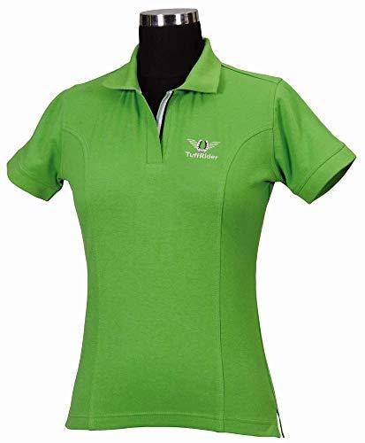TuffRider Damen Poloshirt, Damen, 100332, apfelgrün, xs