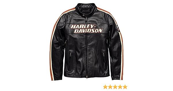Harley Davidson Torque 98026 18em Men S Leather Jacket S Auto