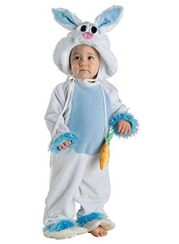 äschen Kostüm Kleinkind blau-weiß, Größe:98 (Die Besten Halloween-kostüme Jungs)