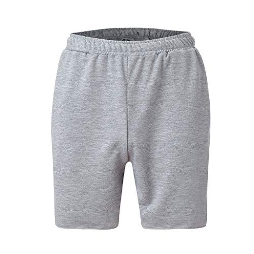 Preisvergleich Produktbild MCYs Herren Freizeit-Shorts Reißverschluss Sport Joggen und Training Shorts Farbsport Jogginghose Fitness Kurze Hose